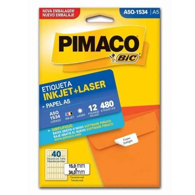 Etiqueta A5 Q1534 Pimaco