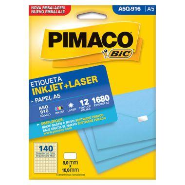 Etiqueta A5 Q916 Pimaco
