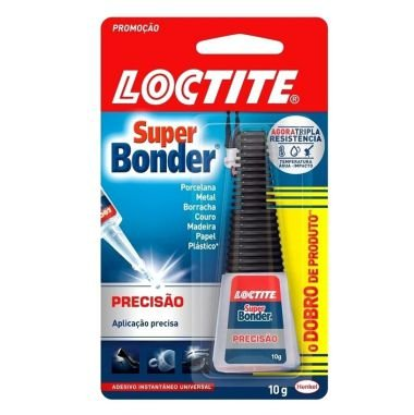 Cola Super Bonder Loctite 10G