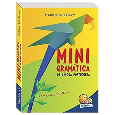 Minigramática Língua Portuguesa Todolivro