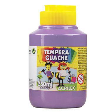 Tinta Guache Acrilex 250Ml Lilás 528