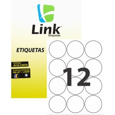 Etiqueta Link  C/100 8011 (12) Redonda