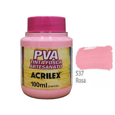 Tinta Plastica PVARosa 537 100Ml