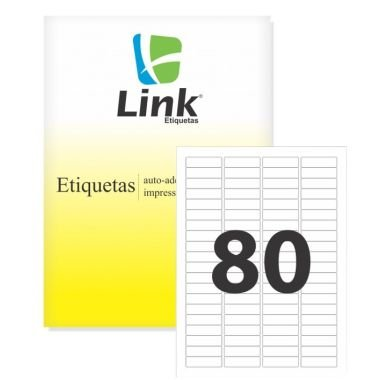 Etiqueta Link C/100 8020 (80) Carta