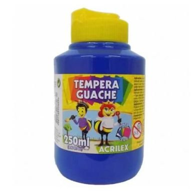 Tinta Guache Acrilex 250Ml Azul 559