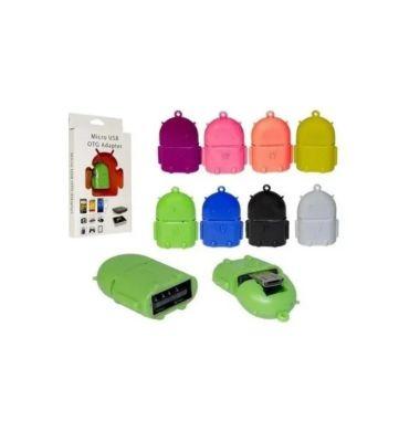 Adaptador Micro USB V8 P/USB OTG