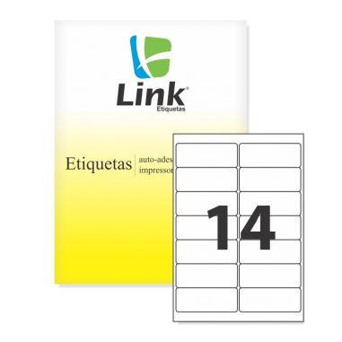 Etiqueta Link Carta 8013 (14 Etiquetas P/Folha) C/100 UND