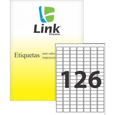 Etiqueta Link A4 9017 (126 Etiquetas P/Folha) C/100 UND