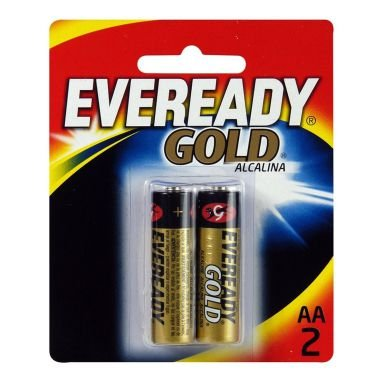 Pilha AA Eveready Gold C/2 Alcalina