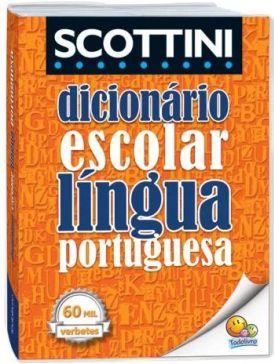Dicionário Português Scottini 60 Mil Verbetes