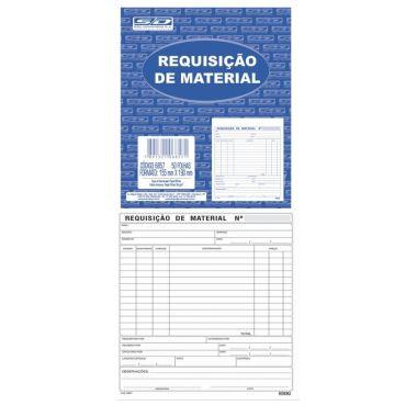 Requisição de Material SD Grande 50 Folhas 6857