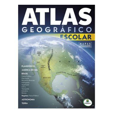 Atlas Escolar Geográfico Brasileitura