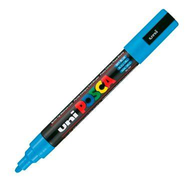 Caneta Posca PC-5M Grossa Azul Claro