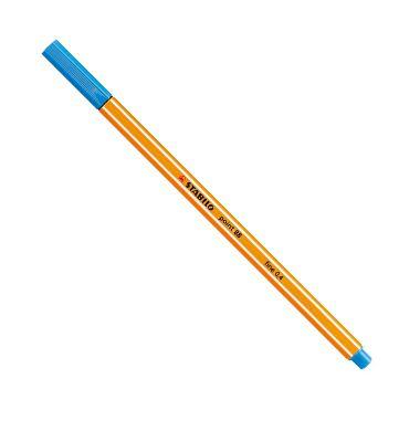 Caneta Stabilo Point 88 Azul Médio 32