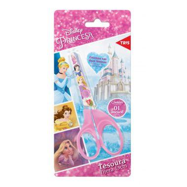 Tesoura Escolar Princesas Tris