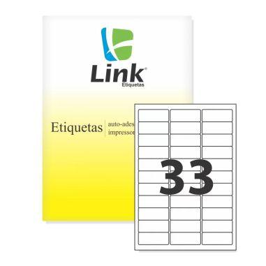 Etiqueta Link A4 9013 (33 Etiquetas P/Folha) C/100 UND
