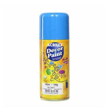Spray Decor Paint Acrilex Azul 521 150ML