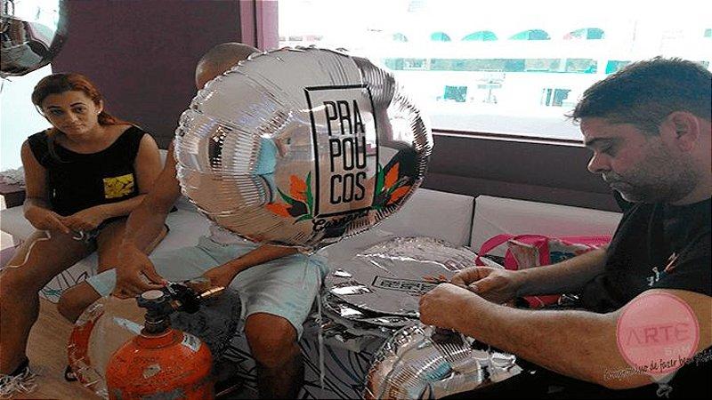 Balões metalizados redondo personalizados
