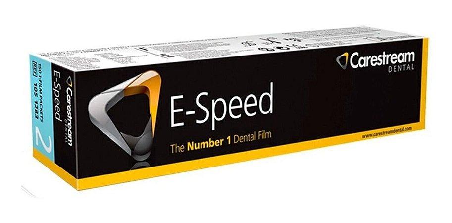 FILME RADIOGRÁFICO ADULTO PERIAPICAL E-SPEED - CARESTREAM