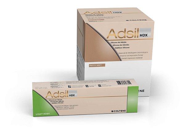 SILICONE DE ADIÇÃO ADSIL HDX LB TUBO (1 PUTTY SOFT + 1 LB TUBO) - COLTENE