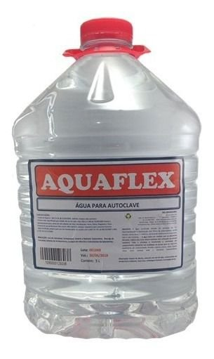 ÁGUA DESTILADA PARA AUTOCLAVE - AQUAFLEX