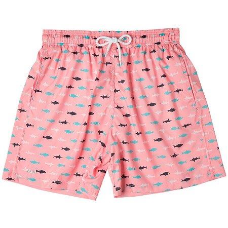 Shorts Estampado Peixes Mash