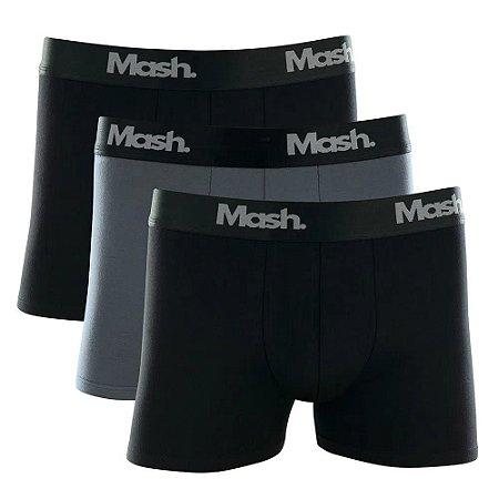 Kit 3 Cuecas Boxer Cotton Mash