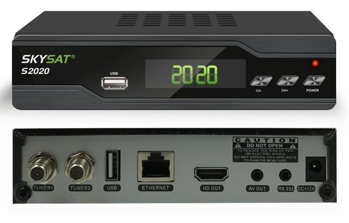 RECEPTOR SKYSAT S2020-FULL HD-ACM-WI-FI-IPTV
