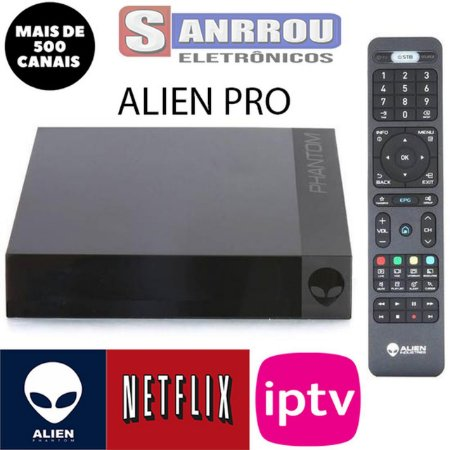 ALIEN PRO ULTIMATE 4K ANDROID 7.0+16GB/2GB
