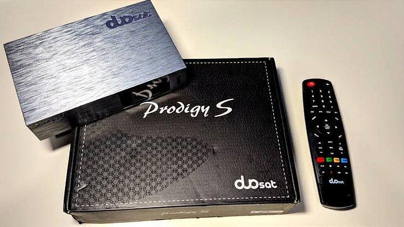 Receptor Duosat Prodigy S Sistema Hybrido-Lançamento