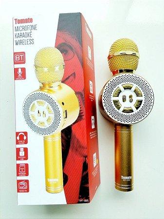 Microfone Sem Fio Bluetooth  Karaok Alto-falante