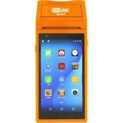 "Impressora GoLink GL-V2S 16GB / Memória RAM 2GB / tela 6"" touch / 58mm / bivolt - laranja"