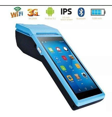 Impressora Golink Gl-V1 Touch Screen / 58mm / Bivolt - Azul