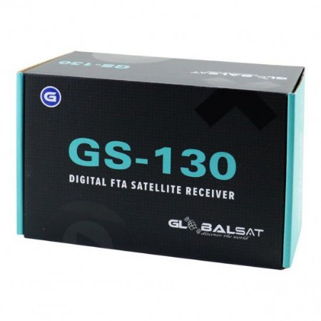 Receptor Globalsat GS130 Plus HD Iks Sks Ondemand H265
