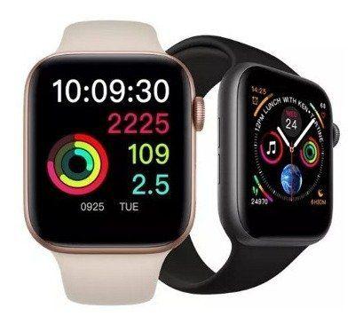 Relógio Smart Watch Iwo 9 Série 4 Gps Ios Android 44mm