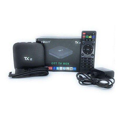 TvBox  Smart Tx2 C/ Bluetooth 2gb 16gb Wifi