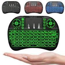teclado sem fio touchpad/android caixa/tv/xbox/smart tv/pc