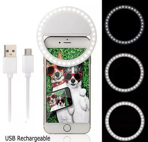 Selfie Ring Light Luz De Selfie Para O Celular