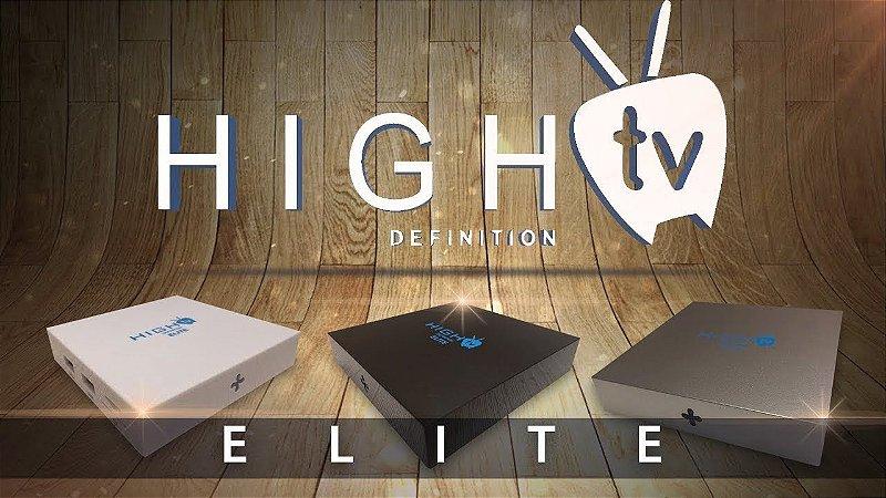 Receptor Higtv New Elite Android tv smart  lançamento