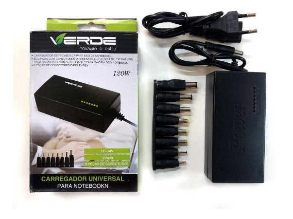 Carregador Notebook Universal 120w