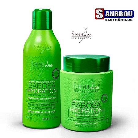 Kit Babosa no Cabelo Forever Liss com Shampoo 300ml e Máscara 250g