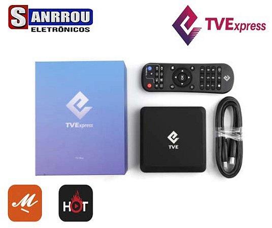 Box Tv Express Iptv Android 4k-Melhor do Mercado
