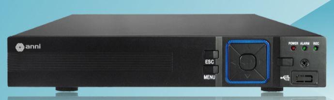 DVR Stand Alone 8 C hannel 1080N 5 em 1 XVR  IP, HDCVI, HDTVI, AHD, ANALÓGICO