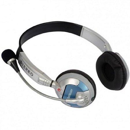 Fone de ouvido Headset prata PH026