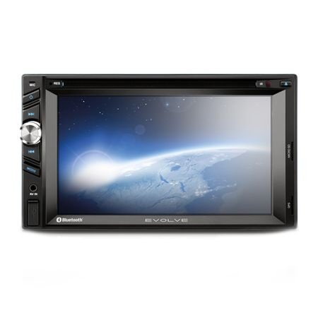DVD Automotivo Evolve com GPS, TV Digital, Bluetooth e Rádio FM Multilaser P3261