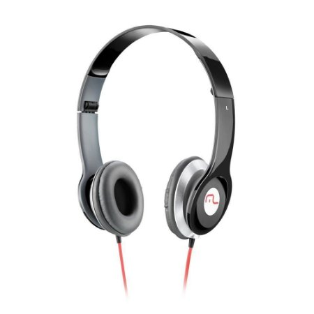 Fone de ouvido headphone Hot Beat Multilaser PH066 (preto) / PH067 (branco) / PH068 (rosa)