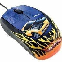 Mouse óptico Hotwheels 3 botões USB Multilaser MO043