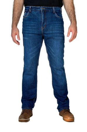 CORSE MOTORCYCLE JEANS - STONE WASHED/AZUL - SLIM