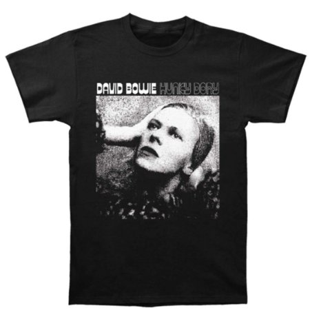 Camiseta Básica Cantor David Bowie Hunky Dory