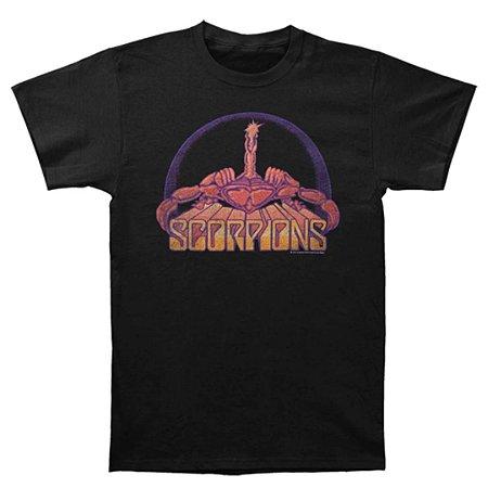 Camiseta Básica Banda Rock Scorpions Bright Scorpion